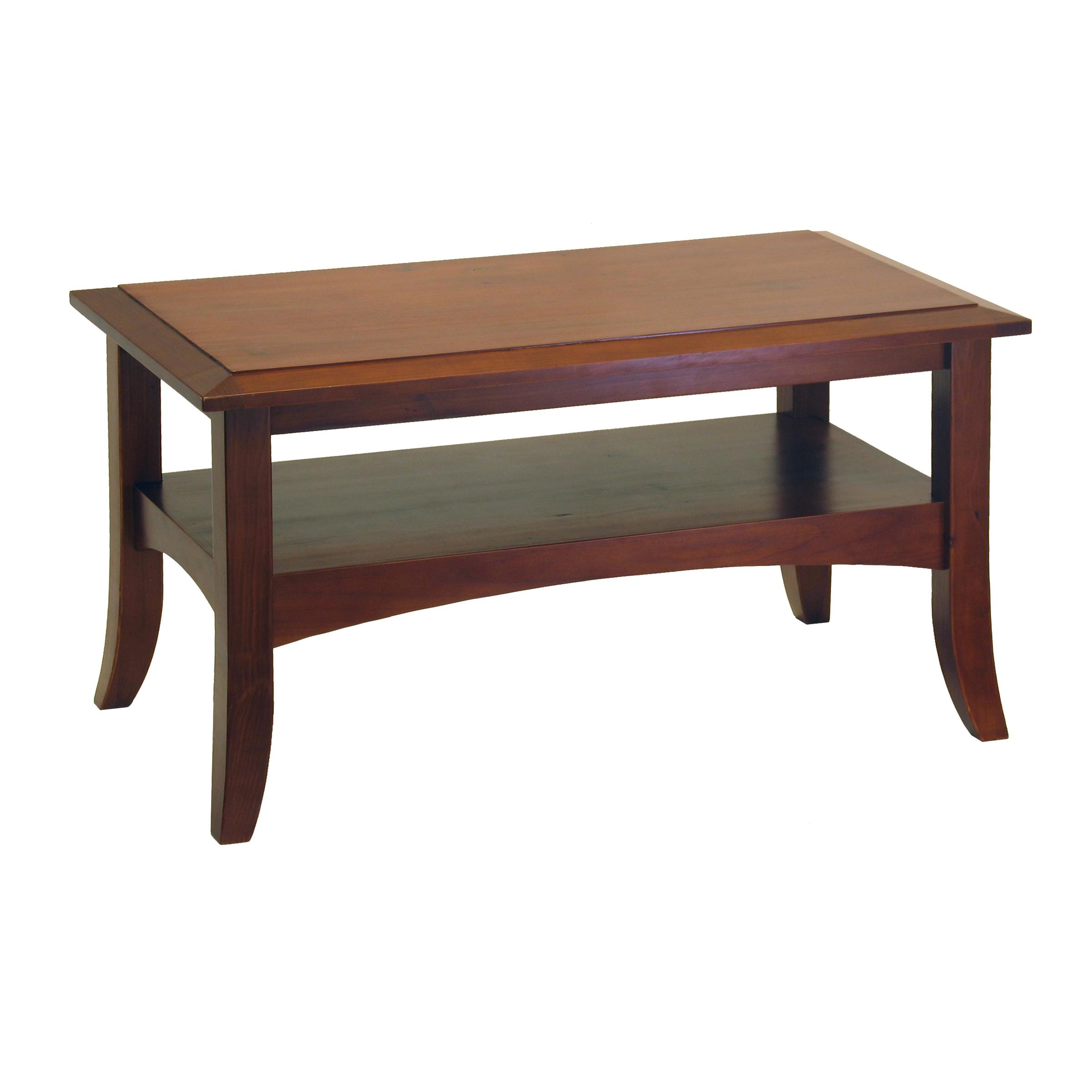 Amazon Winsome Wood Craftsman Coffee Table Antique Walnut