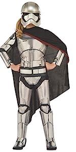 Child's Deluxe Captain Phasma Costume