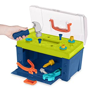 Black decker learning resources Melissa doug building set toy boy hammer tool set box construction