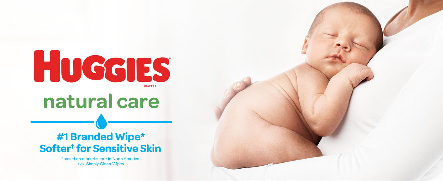 Huggies Unscented baby wipes