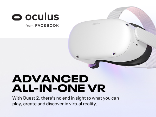 Oculus Quest 2 Advanced All In One VR Headset