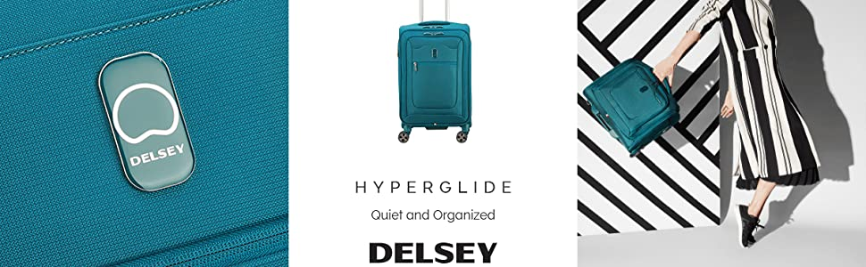 delsey paris luggage hyperglide collection softside