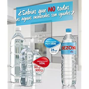 Agua Mineral Natural Bezoya