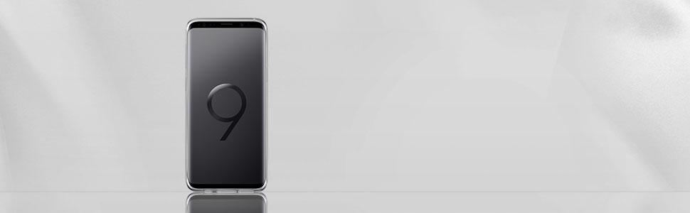 Samsung Clear Cover Für Das Galaxy S9 Transparent Elektronik