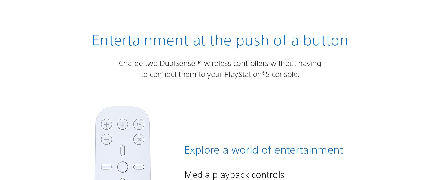 Media Remote, PlayStation 5, PS5
