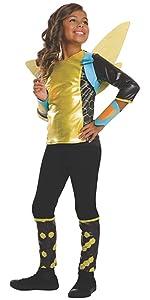 girl's bumble bee costume