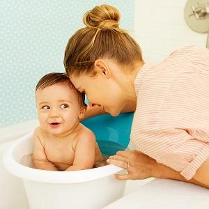 le bain de bebe