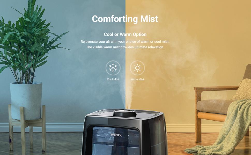 Humidifier Cool Mist Warm Mist
