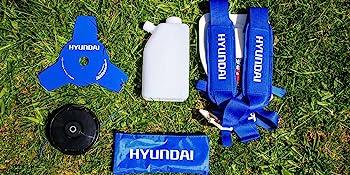 Hyundai HYBC5080AV Desbrozadora con Motor a 2 Tiempos Pro, Azul ...