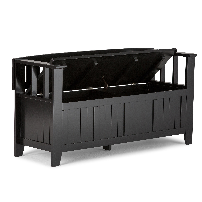 entryway bench solid wood white storage lift up lid mud room seat shoe bedroom ebay. Black Bedroom Furniture Sets. Home Design Ideas