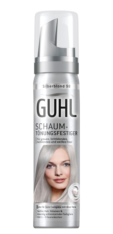 Guhl Schaum Tönungsfestiger 98 Silberblond 3er Pack 3x 75 Ml