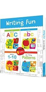 Writing Fun Pack of 4 books