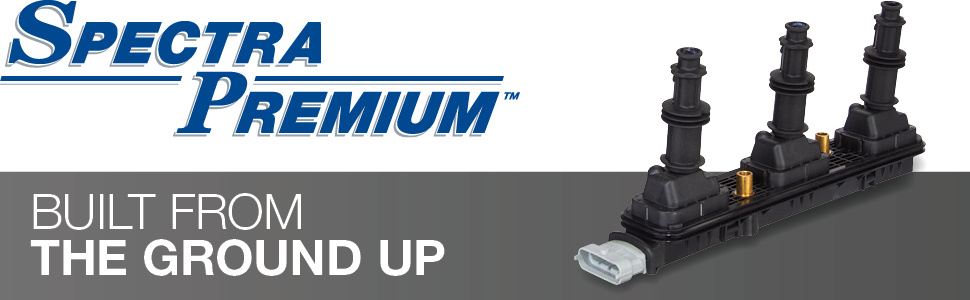 spectra premium, unmatched product quality, ignition coils, coils