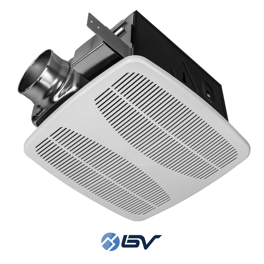 Bv Ultra Quiet 140 Cfm 1 5 Sones Bathroom Ventilation