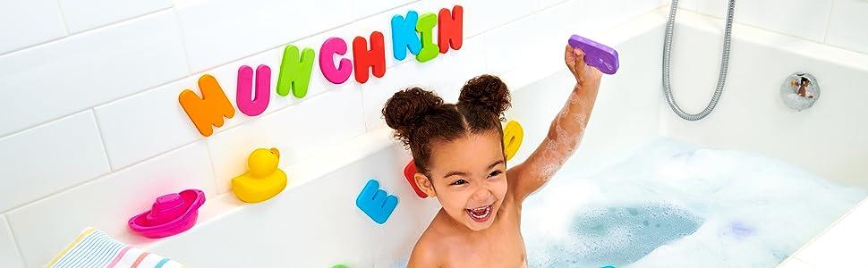 bath toys to learn bath time