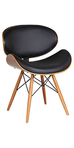 Black, Dining chair
