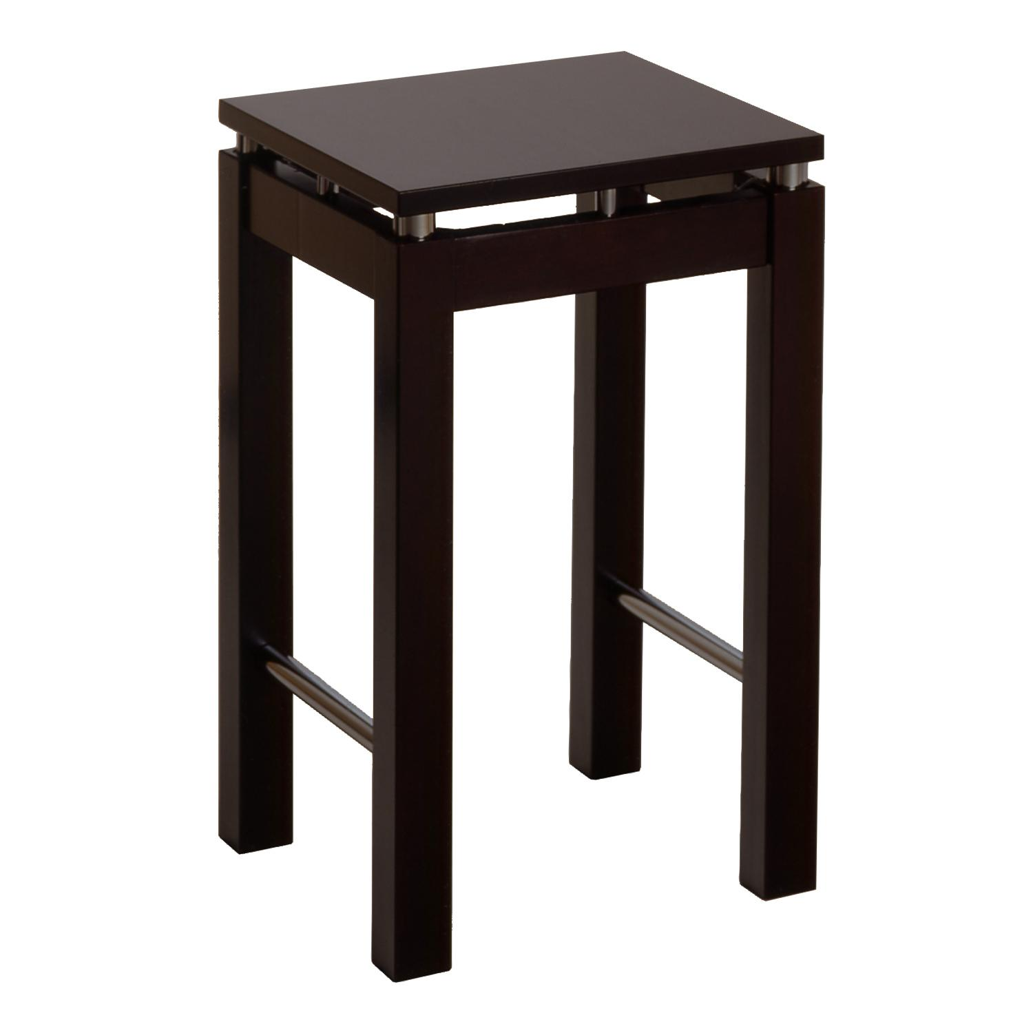 Amazon Com Winsome Wood 23 Inch Stool Espresso Kitchen