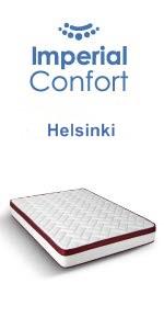 Imperial Confort Colchón Viscoelástico, Blanco, 110 x 190 x ...