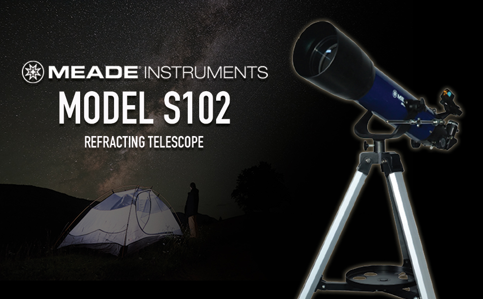 Meade Instruments S102mm Refractor with Smart Phone Adapter