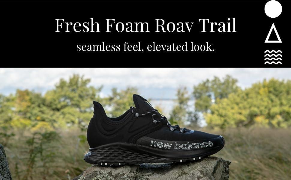New Balance Roav Trail V1 Fresh Foam,Tenis de correr para Mujer