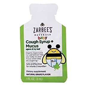 Amazon Com Zarbee S Naturals Baby Cough Syrup Mucus