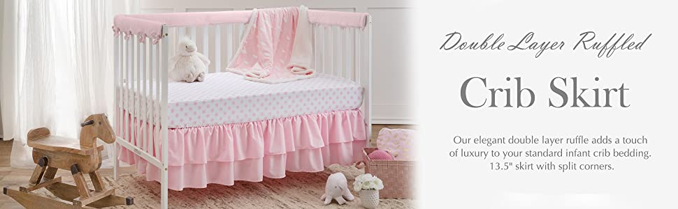 BABY COT VALANCE SHEET WITH FRILLS ALL ROUND //TO FIT COT//COT BED Animals Print
