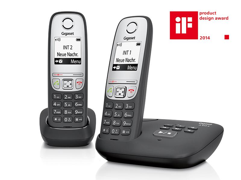 Gigaset A415a Duo 2 Schnurlose Telefone Mit Elektronik