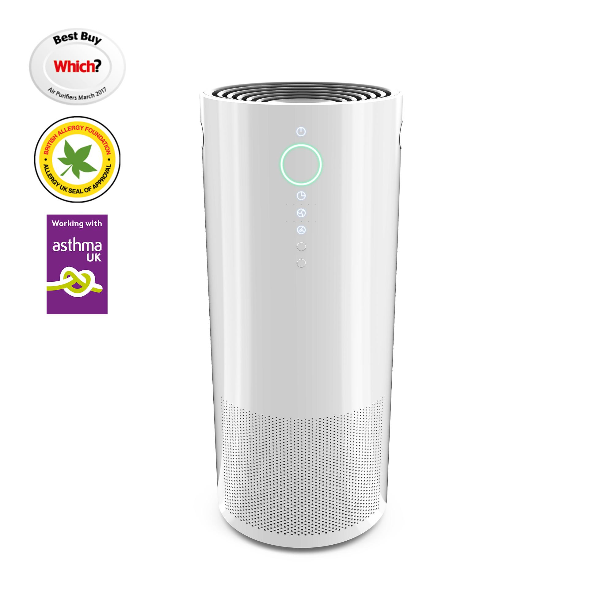 Pure Air Cleaner : Vax acamv pure air purifier white amazon
