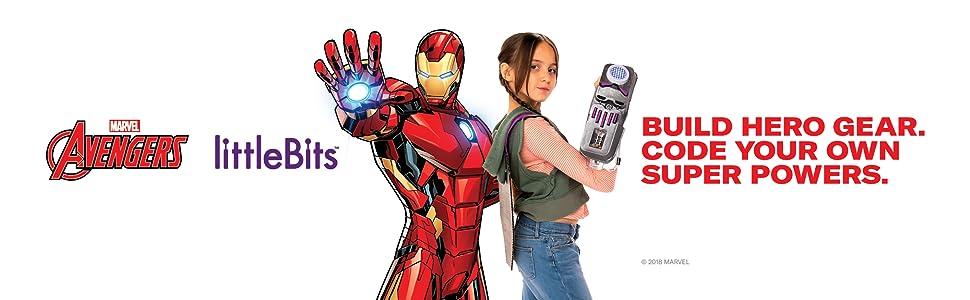 avengers hero inventor littlebits