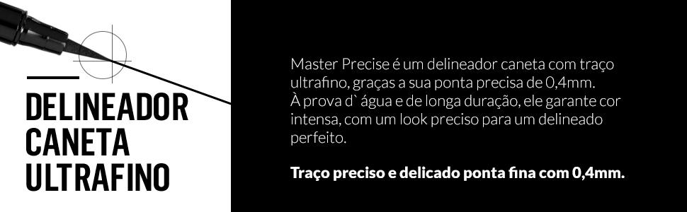 master, master precise, maybelline, precise