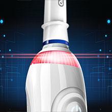 Visible Pressure Sensor helps protect gums