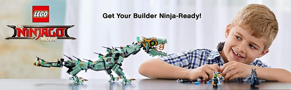 Ninjago Movie, LEGO, building, ninja, creative play, role play, dragon, minifigure