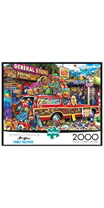 Family Vacation - 2000 Piece Jigsaw Puzzle