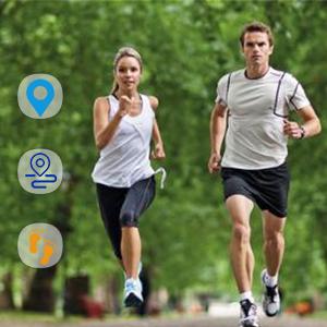 Pedometer, calories, distance, speed Podómetro, calorías, distancia, velocidad