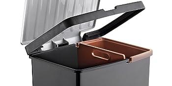 sujeta bolsas; cubo con marco; cubo basura
