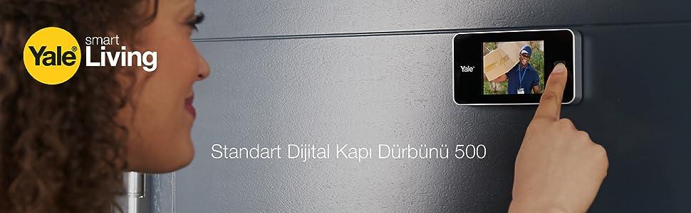 Standart Dijital Kapı Dürbünü 500