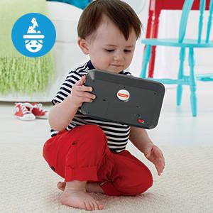 ​Baby's first tablet introduces letters, first words, animals and more!