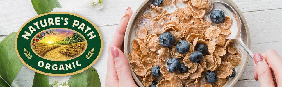 Nature's Path Heritage Flakes Whole Grains Cereal, Healthy