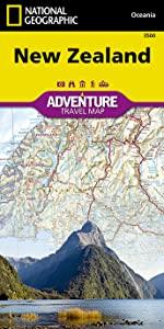 New Zealand Adventure Map