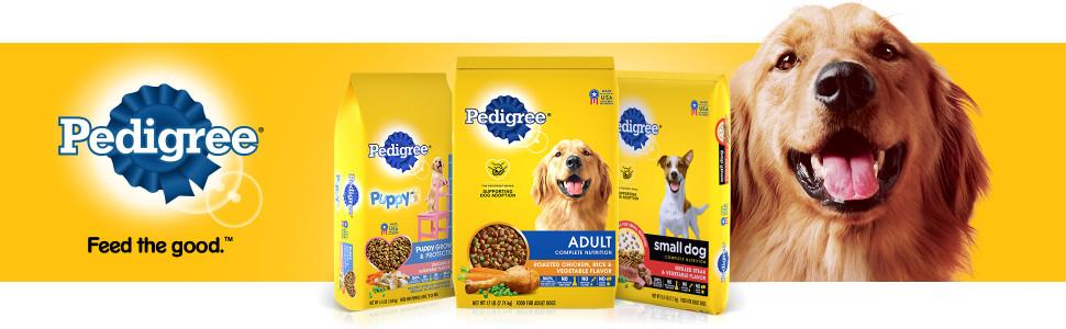 Pedigree Feed the Good, Golden Retriever, Pedigree Dog Food, Adult Dog Food, Mature Dog