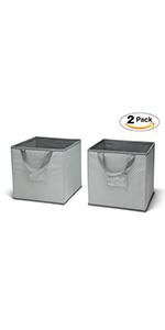 delta children 2 bins storage nursery baby pack set organizer