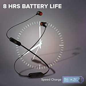 8 Hrs. Battery