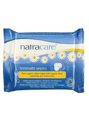Organic intimate wipes