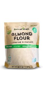almond flour, chart