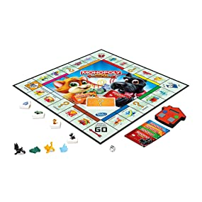 Amazon.com: Monopoly Junior Electronic Banking: Toys & Games