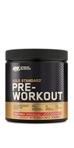 gold standard preworkout, preworkout, pre-workout, optimum nutrition preworkout, ON, gold standard