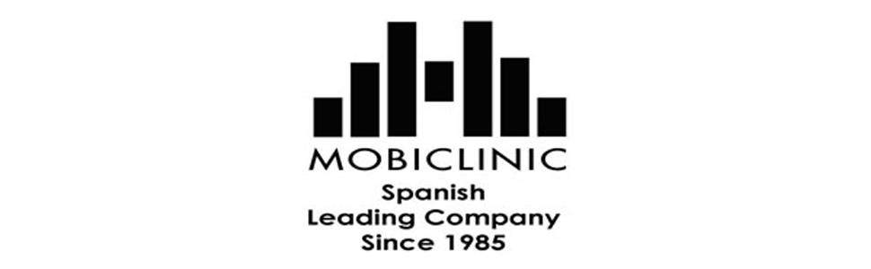 Silla de baño, Altura regulable, Respaldo, Puerto, Mobiclinic