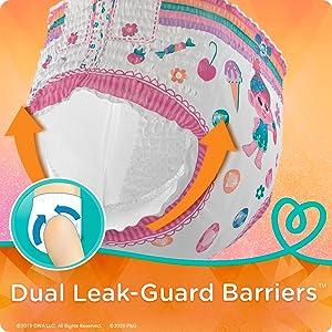 Dual LeakGuard Barriers
