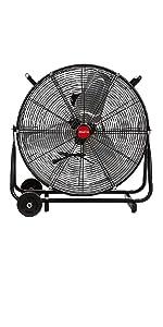 high powered fan; metal fans high velocity 20 inch