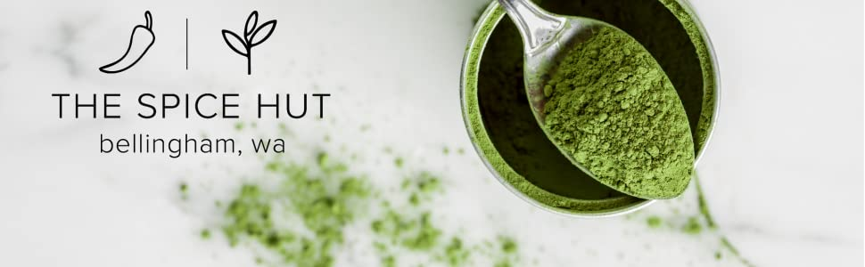 Matcha The Spice Hut Banner Spoon Image